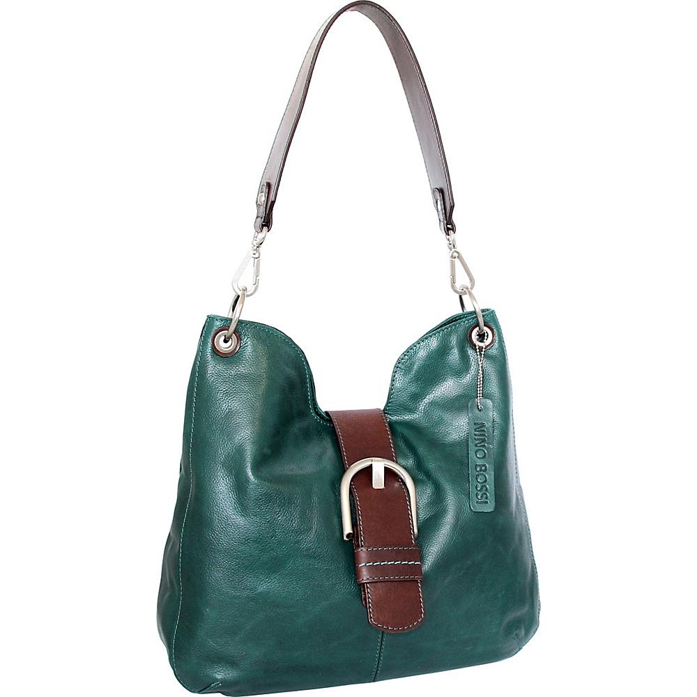 Nino Bossi Jacinta Shoulder Bag Green - Nino Bossi Leather Handbags - Handbags, Leather Handbags