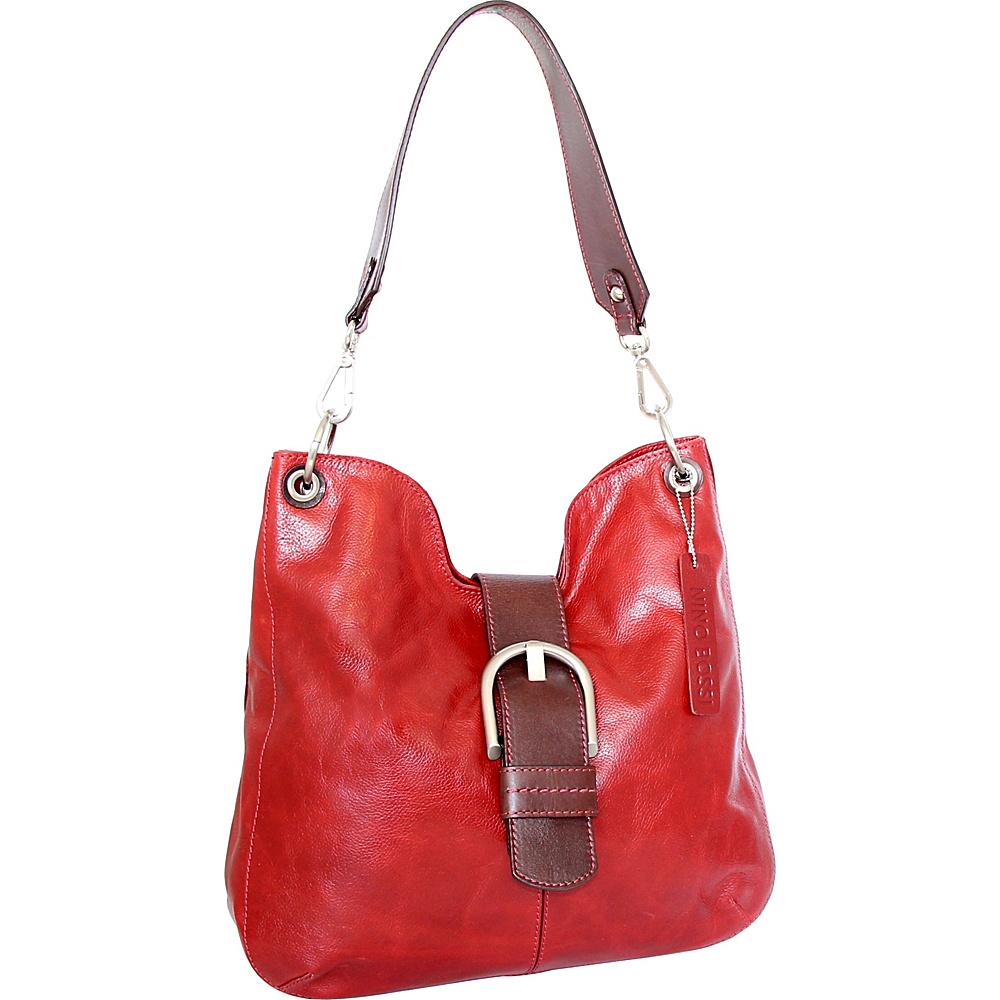 Nino Bossi Jacinta Shoulder Bag Red - Nino Bossi Leather Handbags - Handbags, Leather Handbags