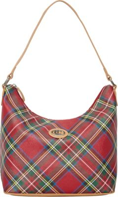 Aurielle-Carryland Tartan Plaid Hobo Tartan Plaid - Aurielle-Carryland Manmade Handbags