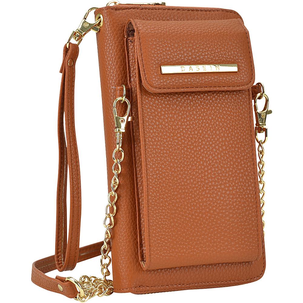 Dasein Fashion All-In-One Convertible Crossbody Brown - Dasein Manmade Handbags - Handbags, Manmade Handbags