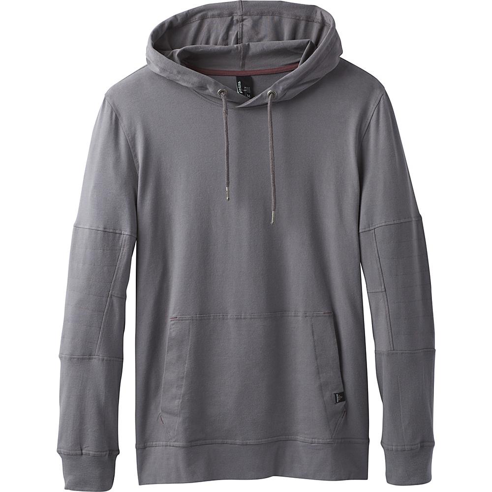 PrAna Sector Hoodie XS - Gravel - PrAna Mens Apparel - Apparel & Footwear, Men's Apparel