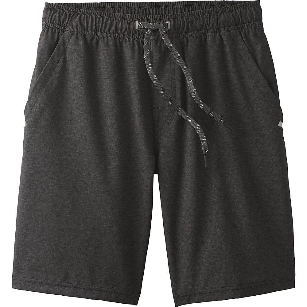 PrAna Fintry Short XS - Black Heather - PrAna Mens Apparel - Apparel & Footwear, Men's Apparel