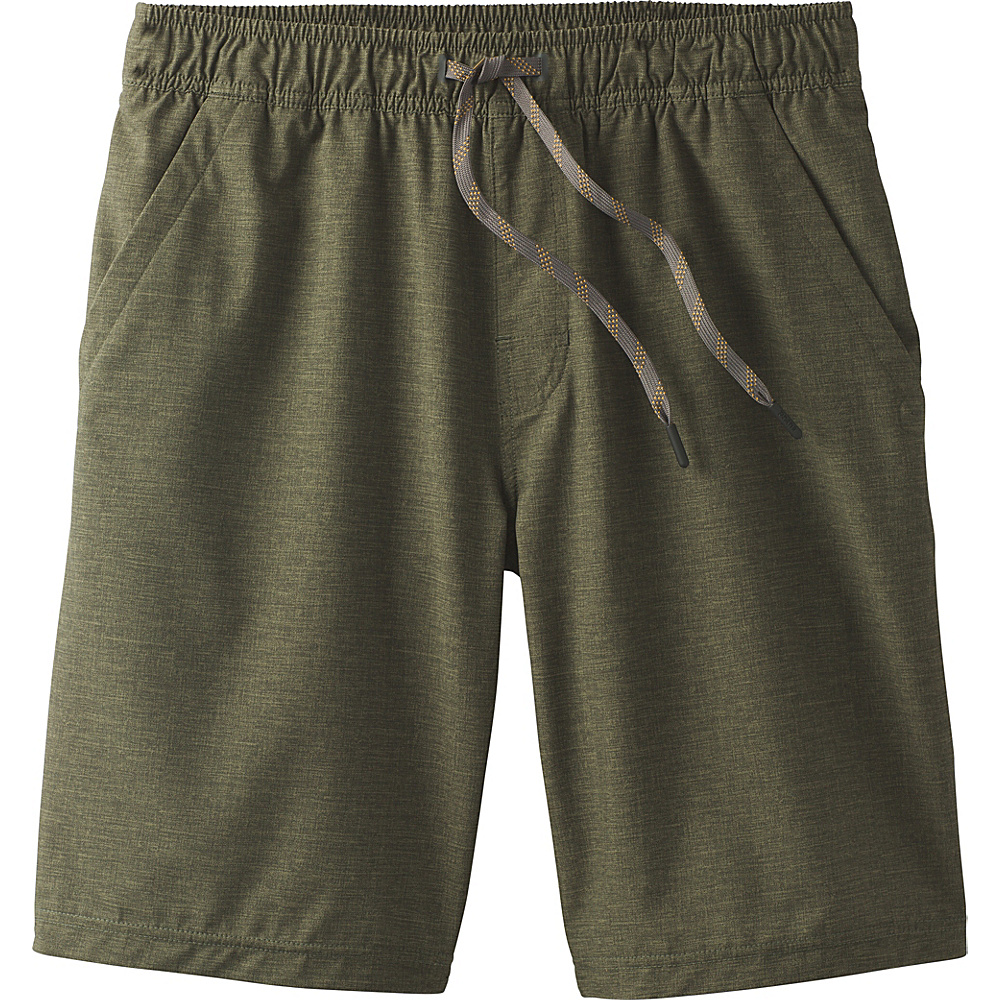 PrAna Fintry Short XXL - Cargo Green Heather - PrAna Mens Apparel - Apparel & Footwear, Men's Apparel