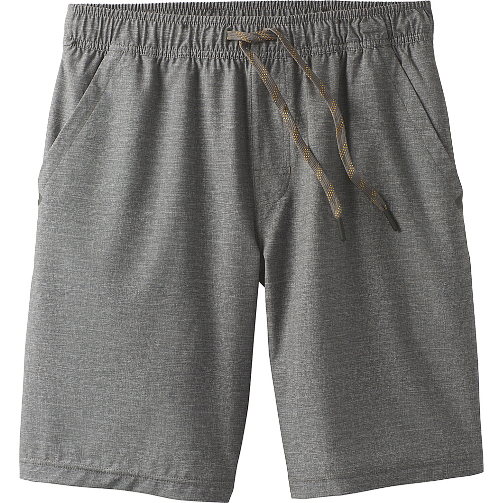 PrAna Fintry Short XXL - Gravel Heather - PrAna Mens Apparel - Apparel & Footwear, Men's Apparel