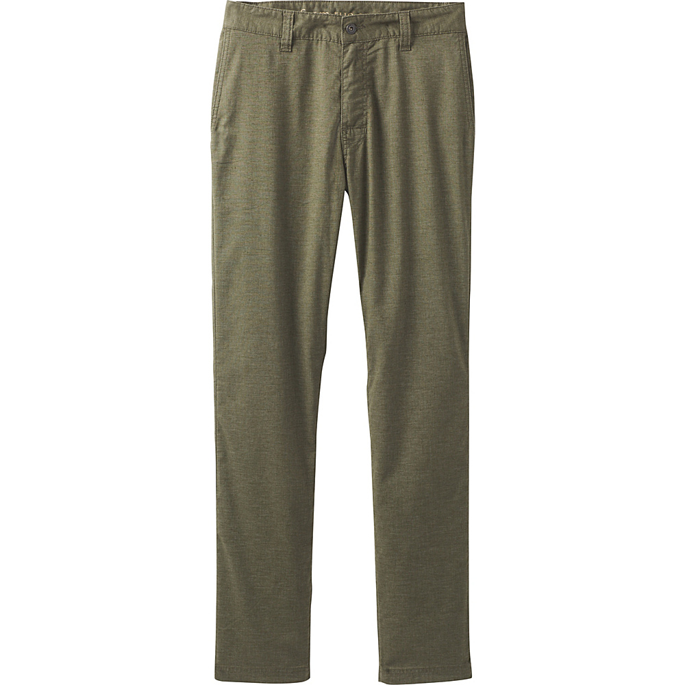 PrAna Furrow Pant 32 Inseam 38 - Cargo Green - PrAna Mens Apparel - Apparel & Footwear, Men's Apparel