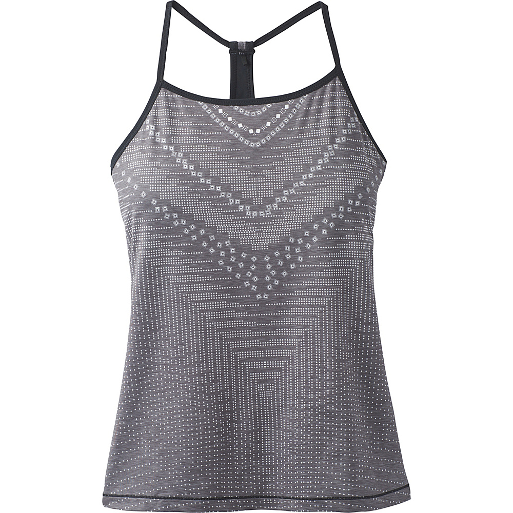 PrAna Small Miracle Cami L - Charcoal Synergy - PrAna Womens Apparel - Apparel & Footwear, Women's Apparel