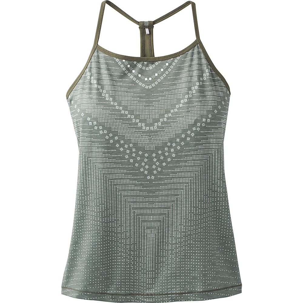 PrAna Small Miracle Cami XL - Forest Green Synergy - PrAna Womens Apparel - Apparel & Footwear, Women's Apparel