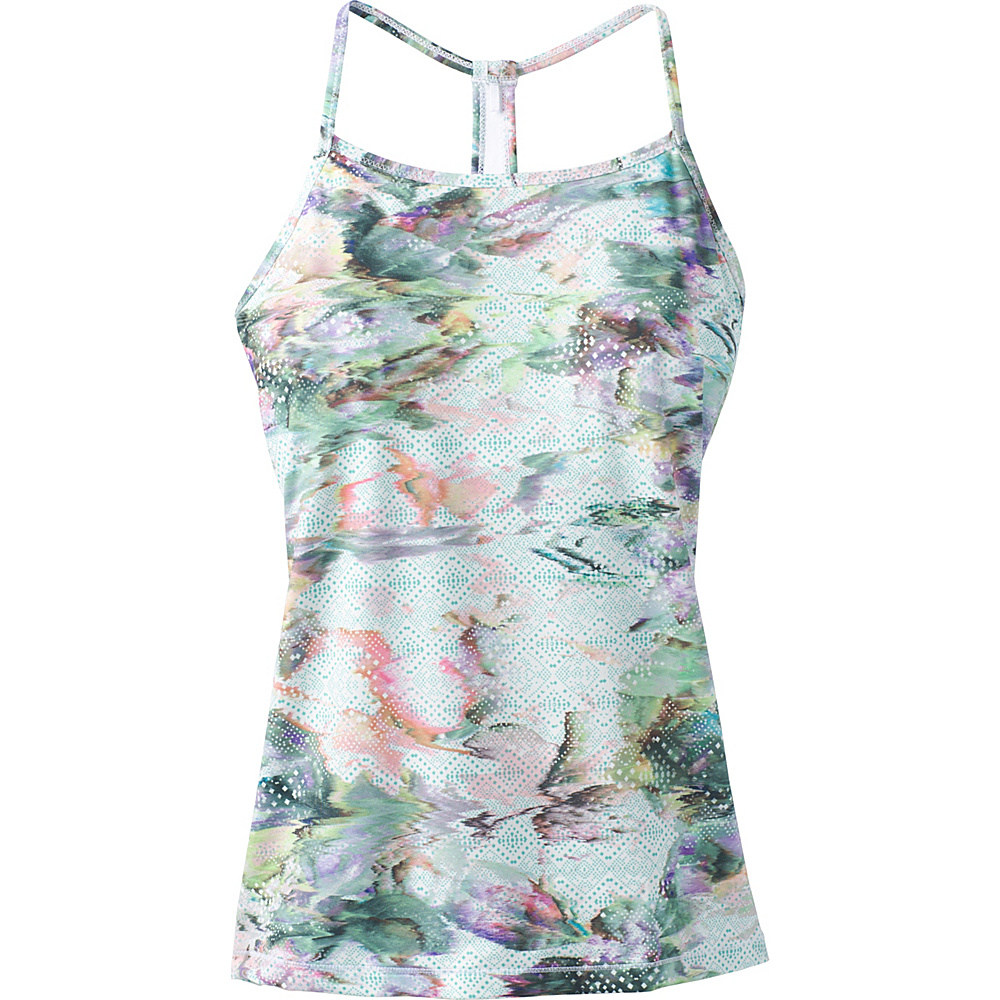 PrAna Small Miracle Cami M - White Graceful - PrAna Womens Apparel - Apparel & Footwear, Women's Apparel