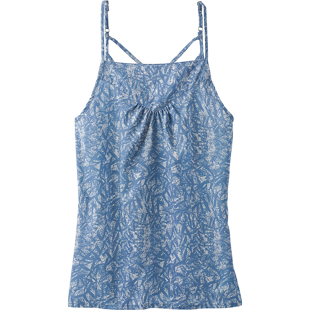 PrAna Zandra Top M - Blue Waimea - PrAna Womens Apparel - Apparel & Footwear, Women's Apparel
