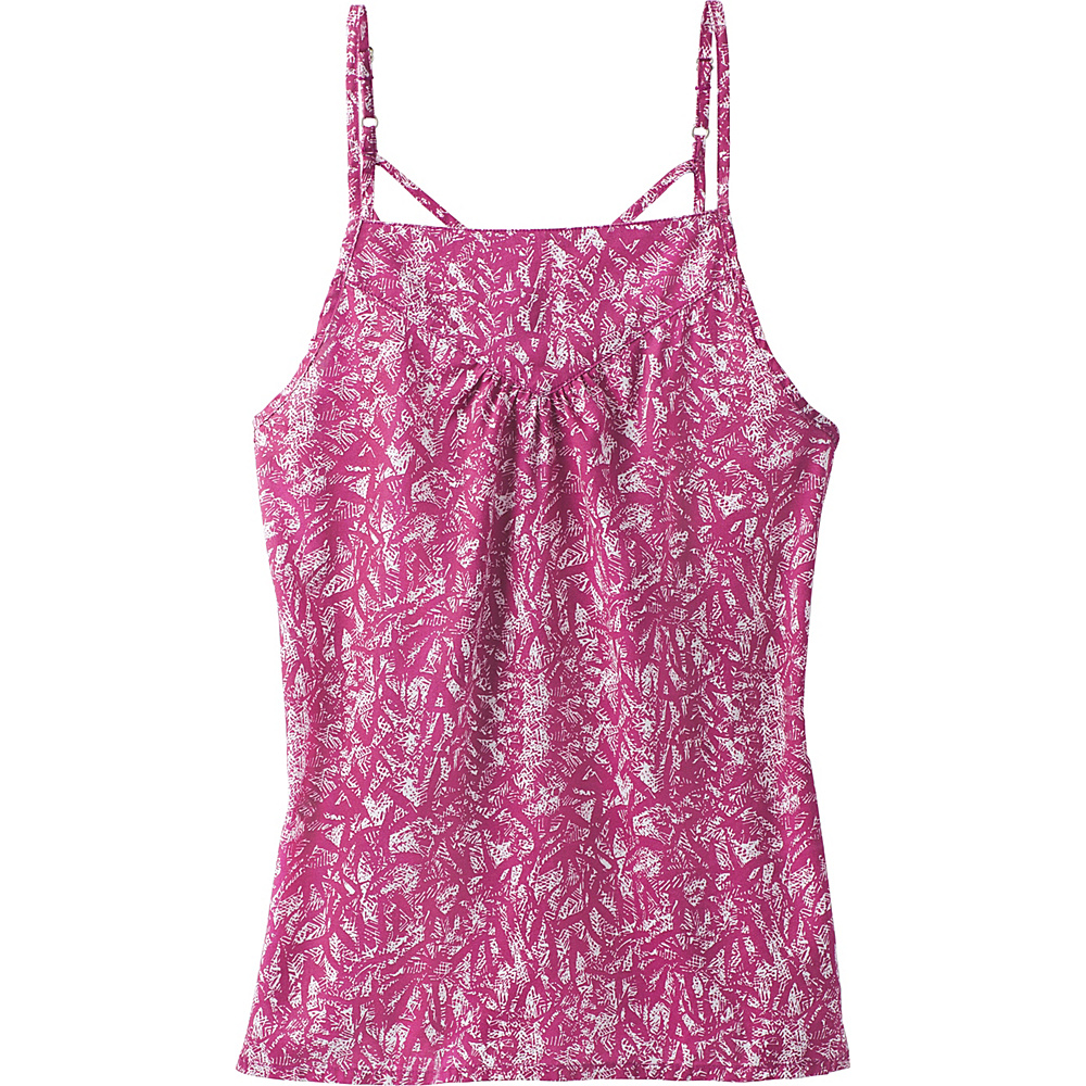 PrAna Zandra Top XS - Tyree Purple Waimea - PrAna Womens Apparel - Apparel & Footwear, Women's Apparel
