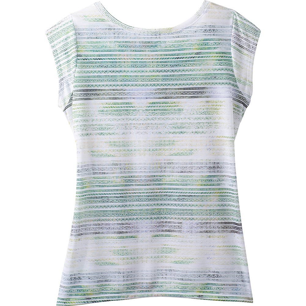 PrAna Myrtle Top M - Green Mirage - PrAna Womens Apparel - Apparel & Footwear, Women's Apparel