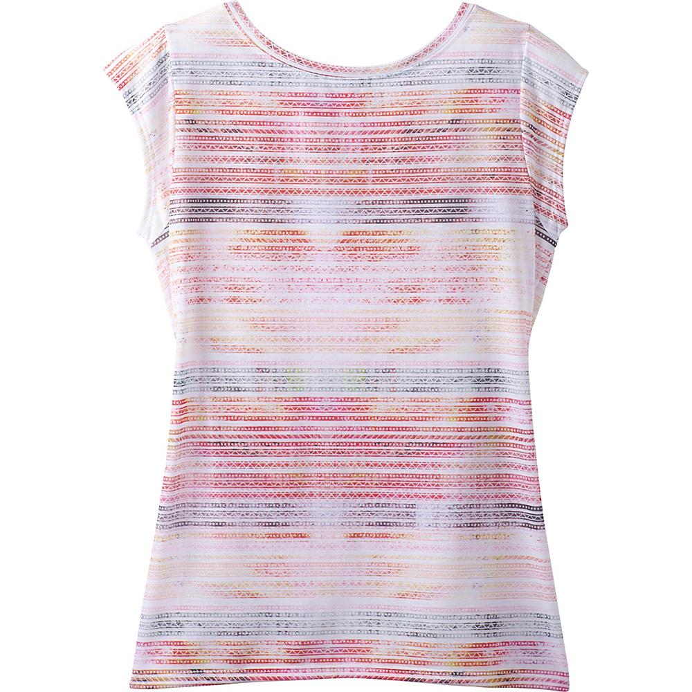 PrAna Myrtle Top XS - Pink Mirage - PrAna Womens Apparel - Apparel & Footwear, Women's Apparel