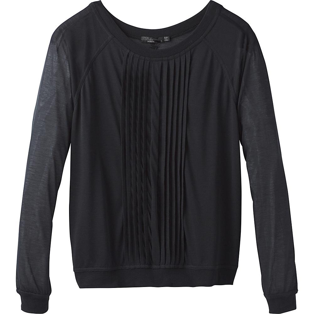 PrAna Sheer Escape Top XS - Black - PrAna Womens Apparel - Apparel & Footwear, Women's Apparel