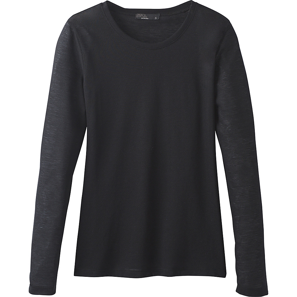 PrAna Francie Top L - Black - PrAna Womens Apparel - Apparel & Footwear, Women's Apparel