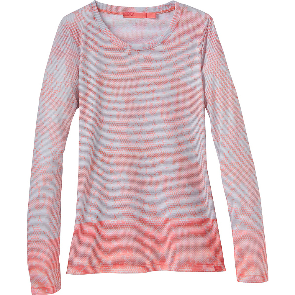 PrAna Francie Top L - Peach Chantilly - PrAna Womens Apparel - Apparel & Footwear, Women's Apparel