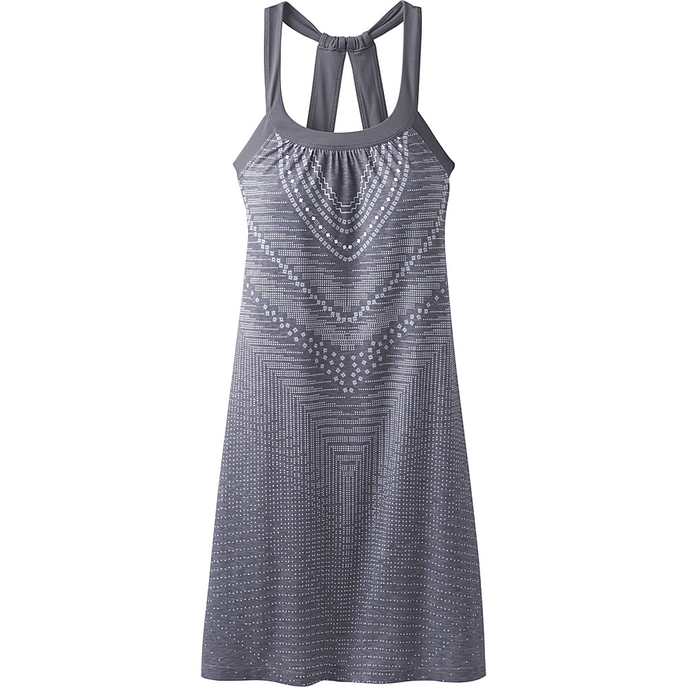 PrAna Cantine Dress L - Charcoal Synergy - PrAna Womens Apparel - Apparel & Footwear, Women's Apparel