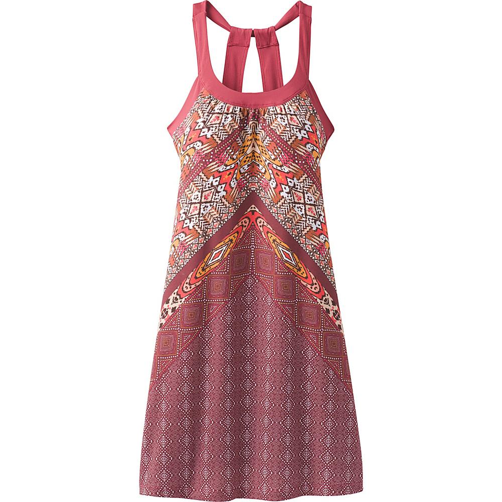 PrAna Cantine Dress XS - Crushed Cran Marrakesh - PrAna Womens Apparel - Apparel & Footwear, Women's Apparel