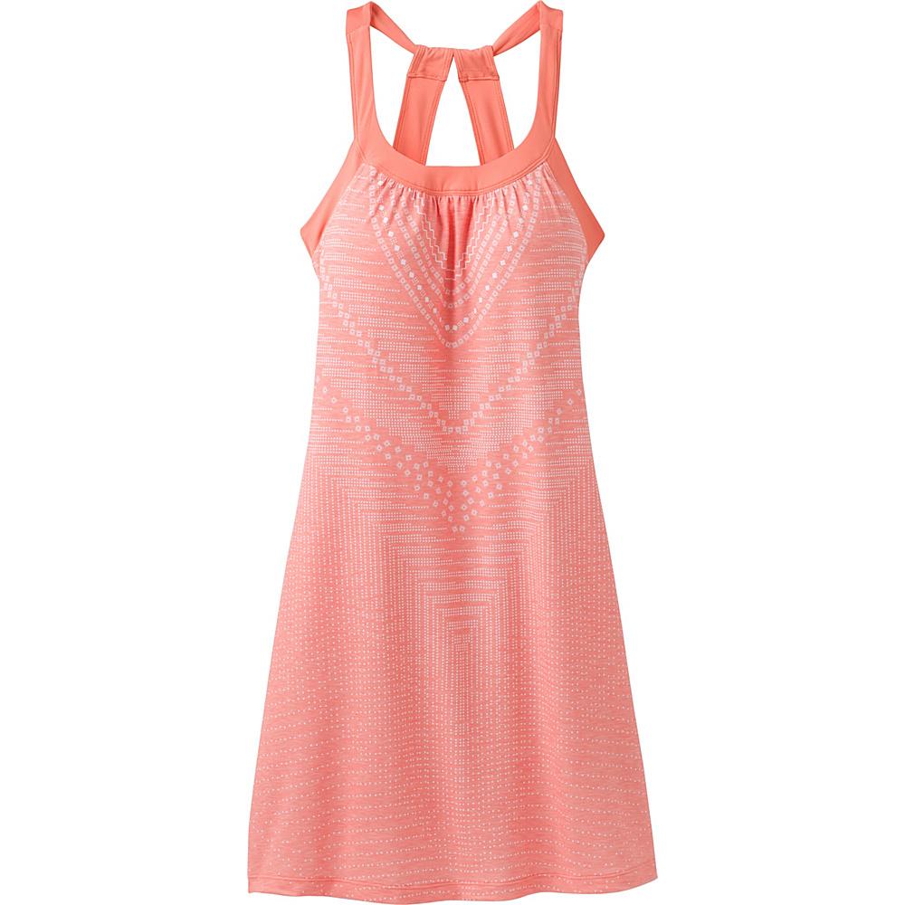 PrAna Cantine Dress XS - Peach Synergy - PrAna Womens Apparel - Apparel & Footwear, Women's Apparel