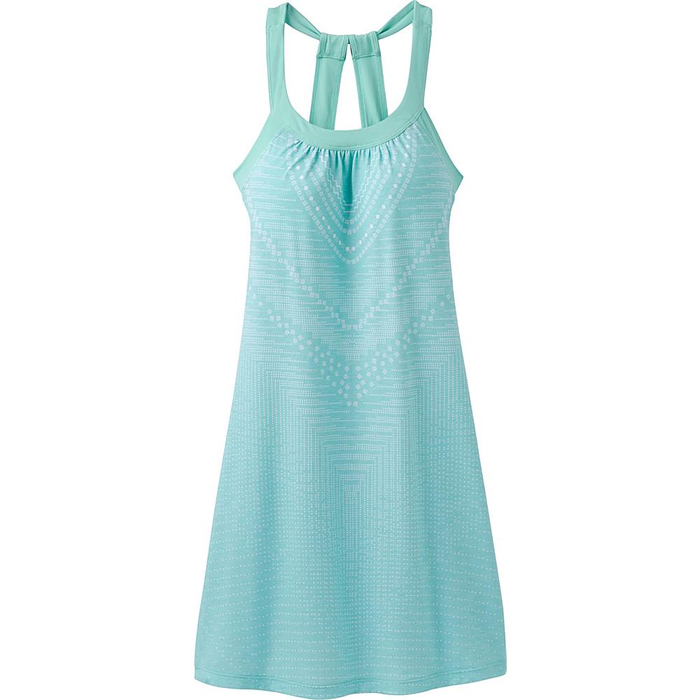 PrAna Cantine Dress XS - Succulent Green Synergy - PrAna Womens Apparel - Apparel & Footwear, Women's Apparel