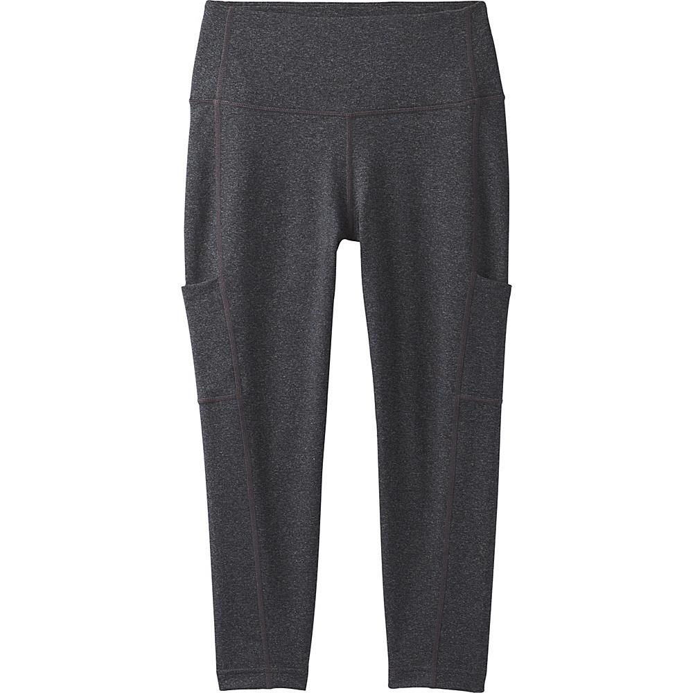PrAna Borra Pocket Capri S - Charcoal Heather - PrAna Womens Apparel - Apparel & Footwear, Women's Apparel
