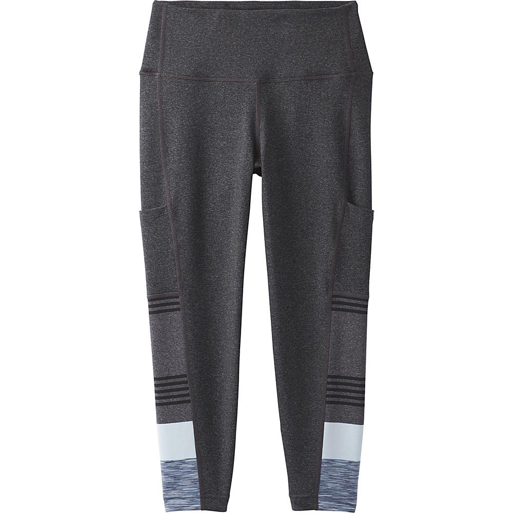 PrAna Borra Pocket Capri XS - Charcoal Heather Stripe - PrAna Womens Apparel - Apparel & Footwear, Women's Apparel