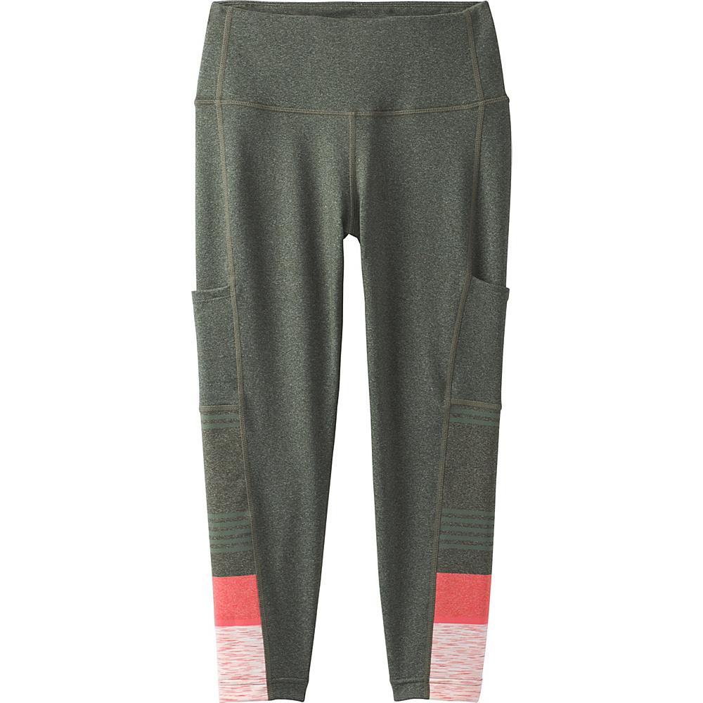 PrAna Borra Pocket Capri XS - Forest Heather Stripe - PrAna Womens Apparel - Apparel & Footwear, Women's Apparel
