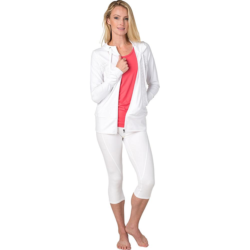 Soybu Paschi Jacket S - White - Soybu Womens Apparel - Apparel & Footwear, Women's Apparel