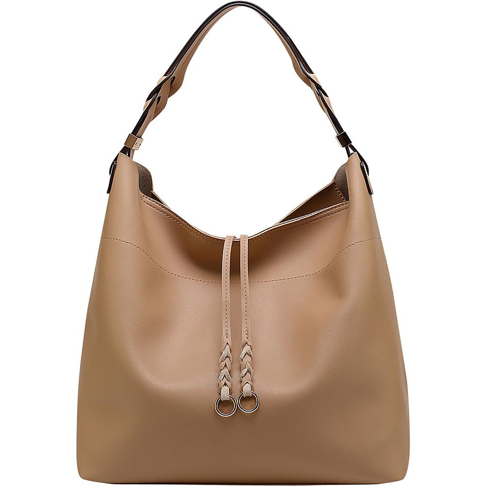MKF Collection by Mia K. Farrow Davina Hobo Bone - MKF Collection by Mia K. Farrow Manmade Handbags - Handbags, Manmade Handbags