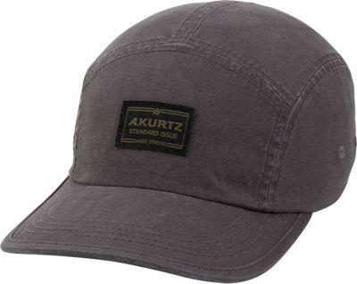 Image of A Kurtz Admiral Camp Cap One Size - Gunmetal - A Kurtz Hats/Gloves/Scarves