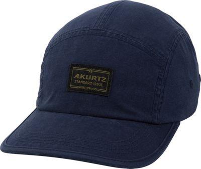 Image of A Kurtz Admiral Camp Cap One Size - Infantry Blue - A Kurtz Hats/Gloves/Scarves