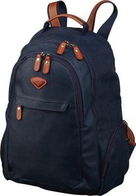 Jump Uppsala Teardrop Laptop Backpack Navy - Jump Business & Laptop Backpacks