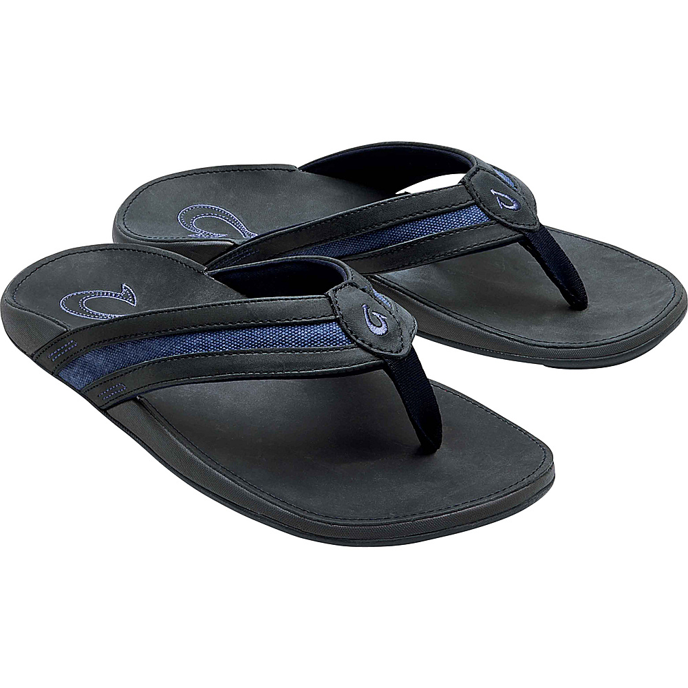 OluKai Mens Ikoi Sandal 14 - Trench Blue/Trench Blue - OluKai Mens Footwear - Apparel & Footwear, Men's Footwear