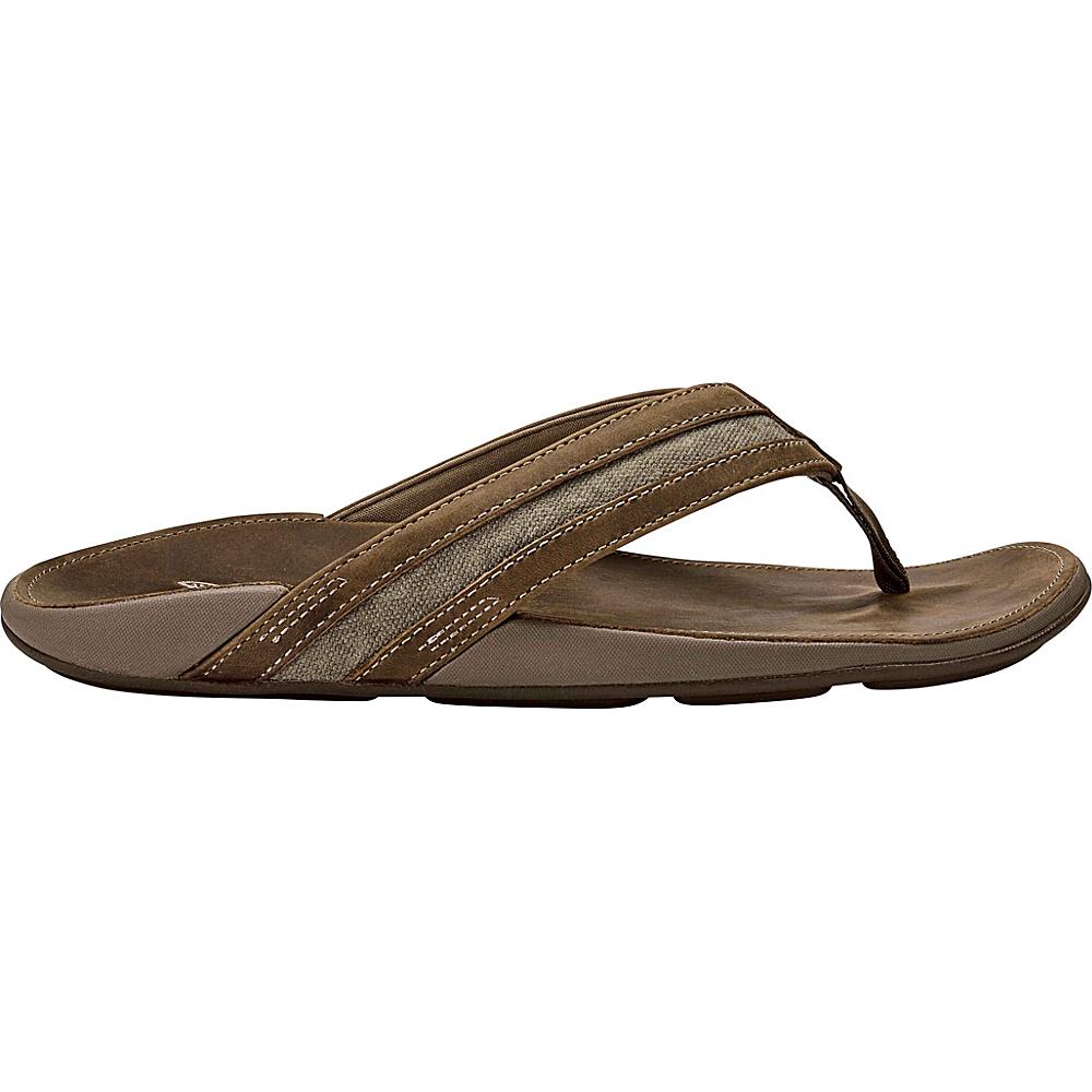 OluKai Mens Ikoi Sandal 9 - Mustang/Mustand - OluKai Mens Footwear - Apparel & Footwear, Men's Footwear