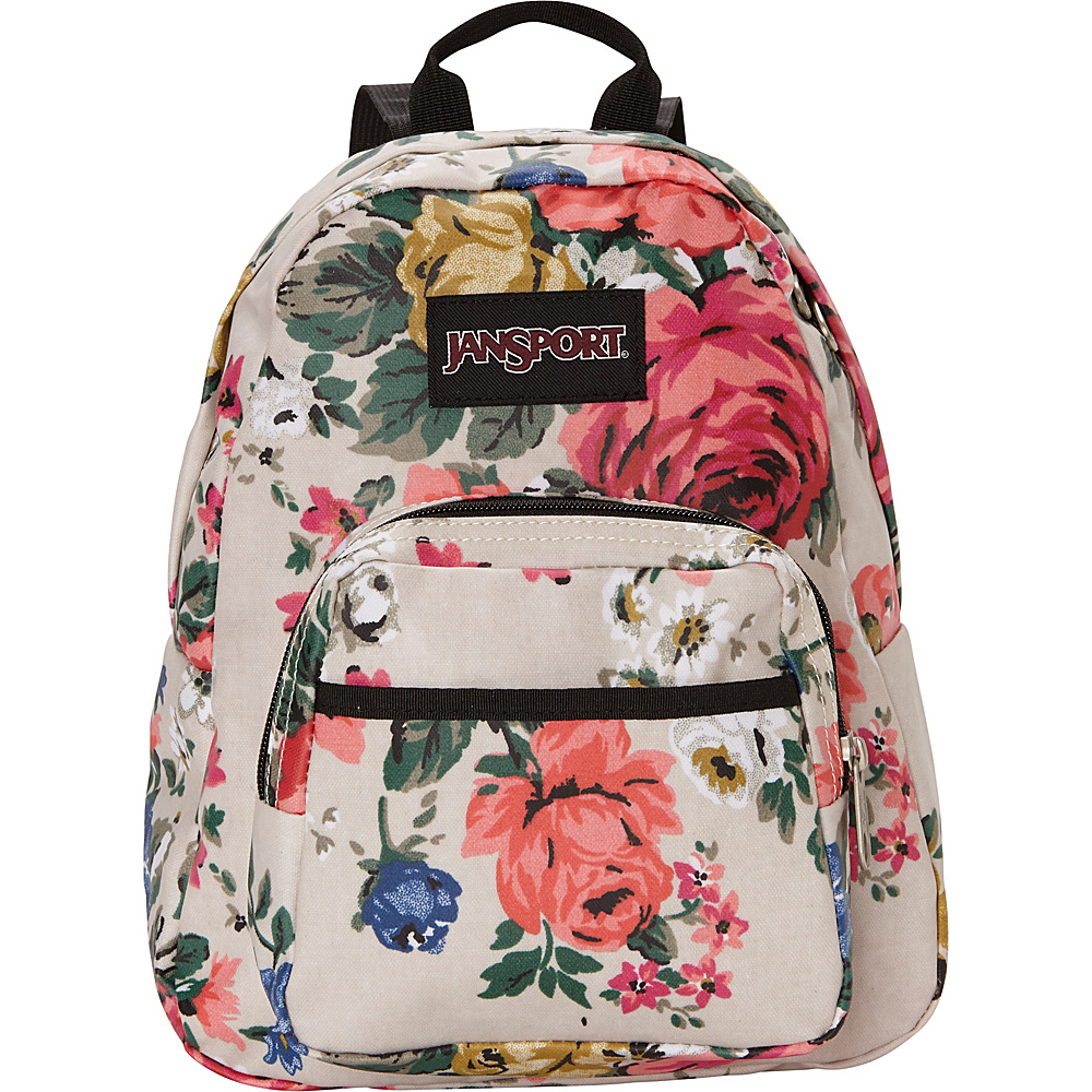 JanSport Half Pint FX Mini Backpack Matte Coated Canvas - JanSport Fabric Handbags