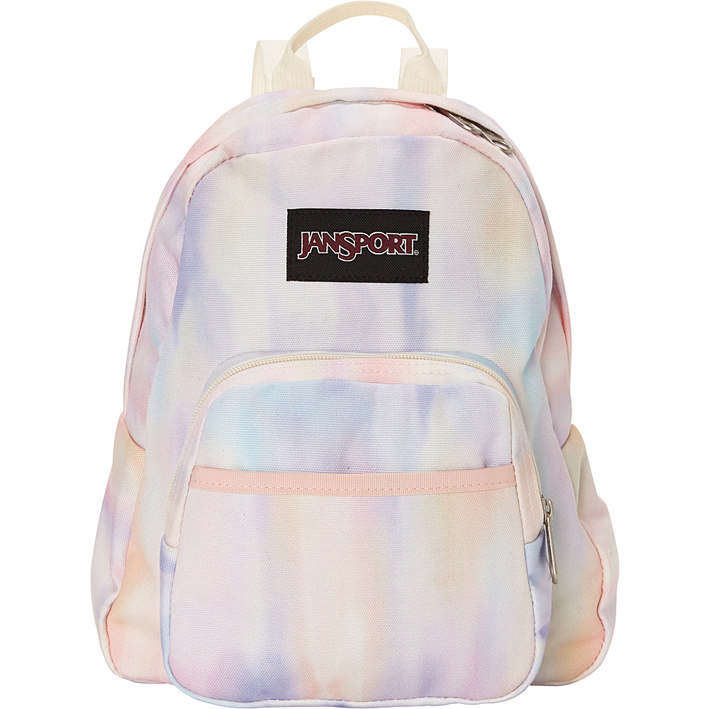 JanSport Half Pint FX Mini Backpack Sunkissed Pastel Poly Canvas - JanSport Fabric Handbags