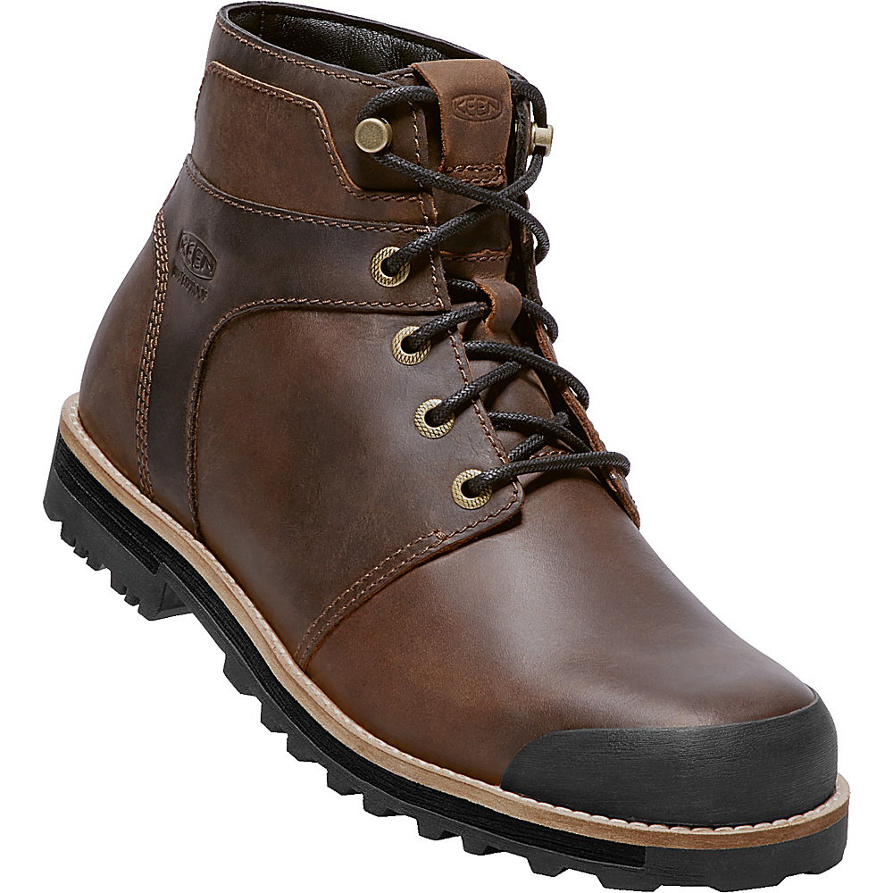 KEEN Mens The Rocker WP Boot 9.5 - Big Ben/Eiffel - KEEN Mens Footwear - Apparel & Footwear, Men's Footwear