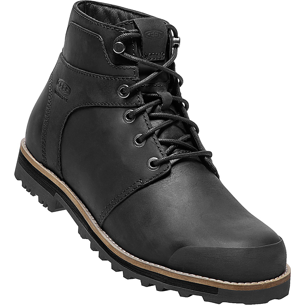 KEEN Mens The Rocker WP Boot 11 - Black/Black - KEEN Mens Footwear - Apparel & Footwear, Men's Footwear