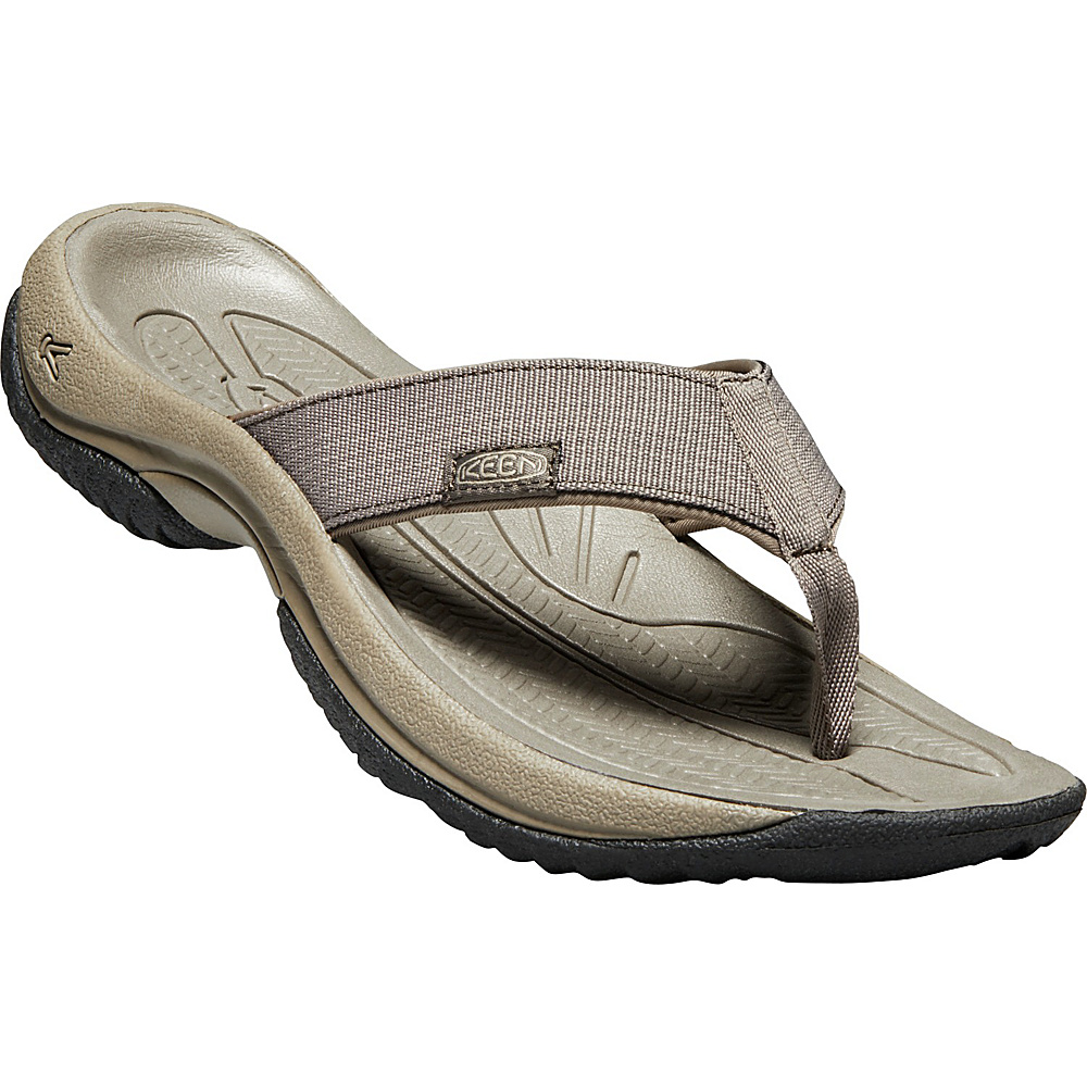 KEEN Mens Kona Flip 8 - Bungee Cord/Raven - KEEN Mens Footwear - Apparel & Footwear, Men's Footwear