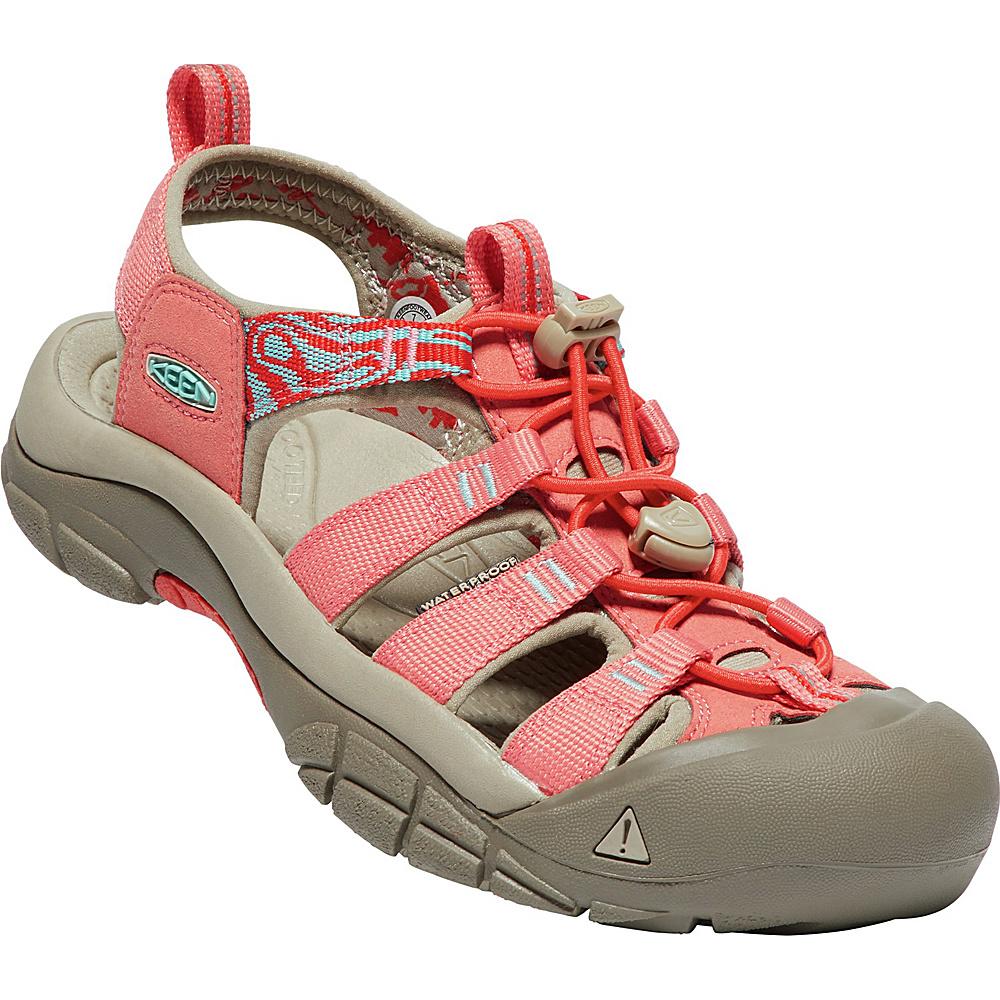 KEEN Womens Newport Hydro Sandals 6.5 - Crabapple/Summer Fig - KEEN Womens Footwear - Apparel & Footwear, Women's Footwear