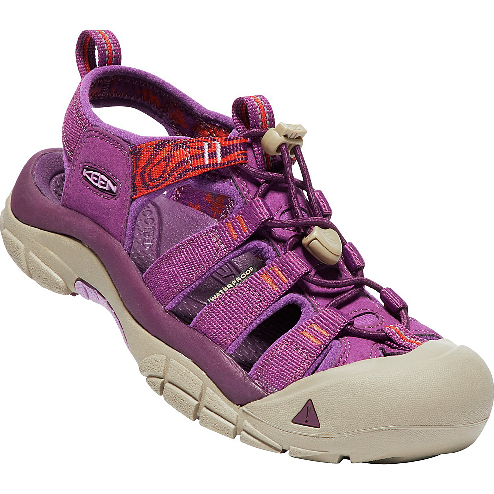 KEEN Womens Newport Hydro Sandals 5.5 - Grape Kiss/Summer Fig - KEEN Womens Footwear - Apparel & Footwear, Women's Footwear