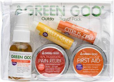 Green Goo Outdoor Travel Pack Multi - Green Goo Travel Health & Beauty