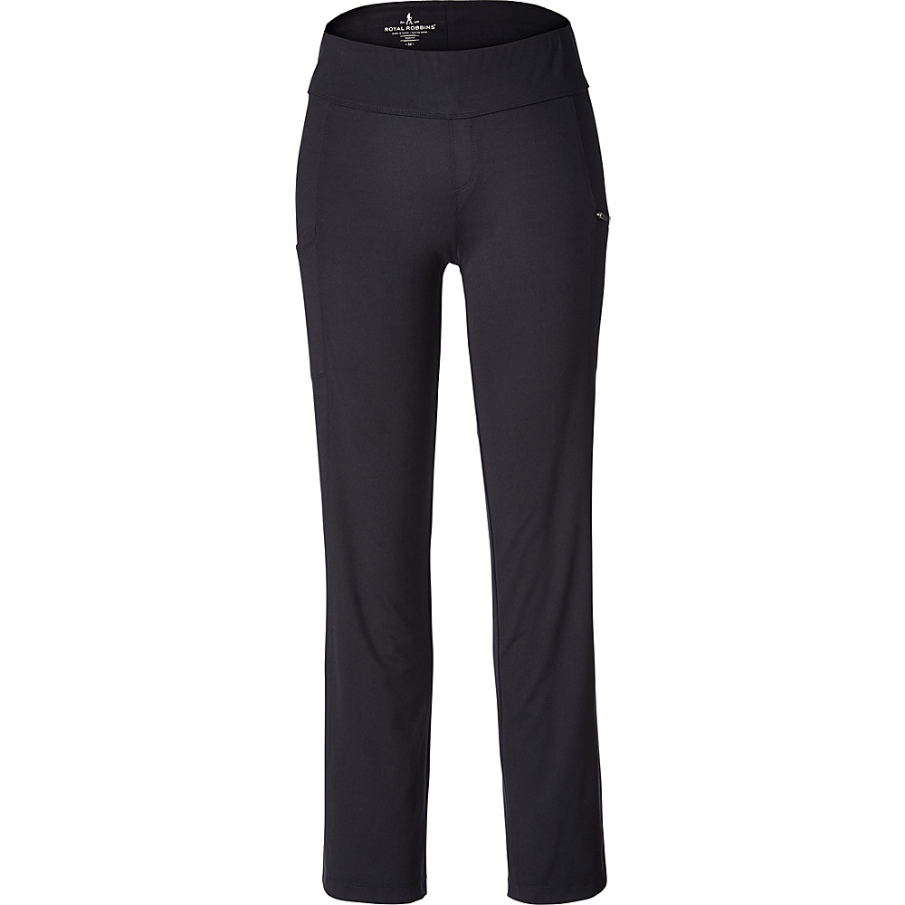 Royal Robbins Womens Jammer Knit Pant XXL - 34in - Jet Black - Royal Robbins Womens Apparel - Apparel & Footwear, Women's Apparel