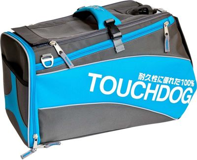 Touchdog Modern-Glide Airline Approved Water-Resistant Dog Carrier Electric Blue - Touchdog Pet Bags