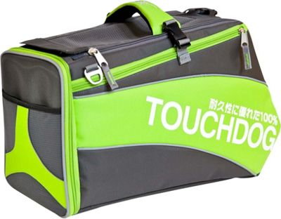 Touchdog Modern-Glide Airline Approved Water-Resistant Dog Carrier Lime Yellow Green - Touchdog Pet Bags