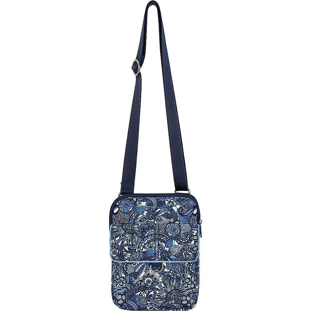 Sakroots Wynnie Small Flap Messenger Blue Steel Spirit Desert - Sakroots Fabric Handbags - Handbags, Fabric Handbags