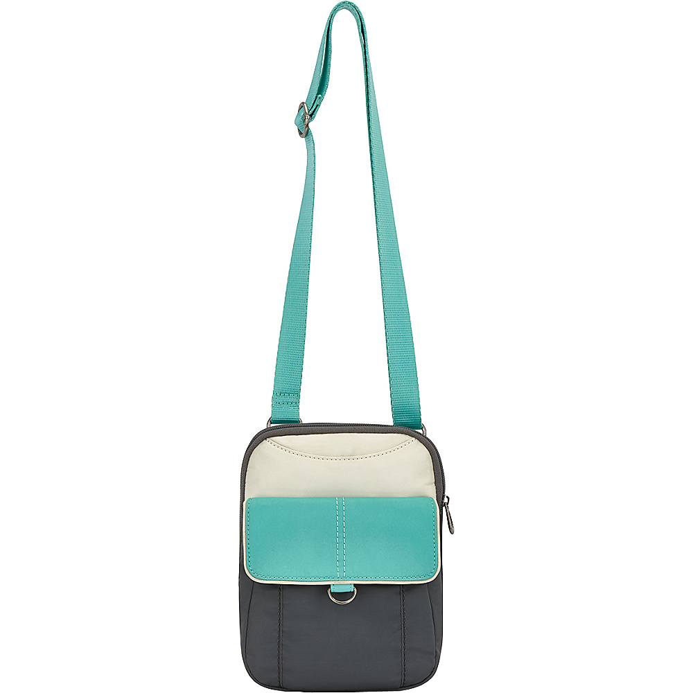 Sakroots Wynnie Small Flap Messenger Seafoam Colorblock - Sakroots Fabric Handbags - Handbags, Fabric Handbags