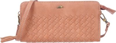 Roots 73 RFID Wallet on a String Desert Peach - Roots 73 Women's Wallets