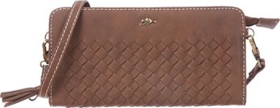 Roots 73 RFID Wallet on a String Trench Brown - Roots 73 Women's Wallets