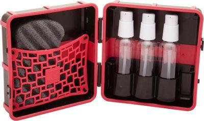 LuxePak Mini Toiletry Kit with Sponge Vibrant Pink - LuxePak Mini Toiletry Kits