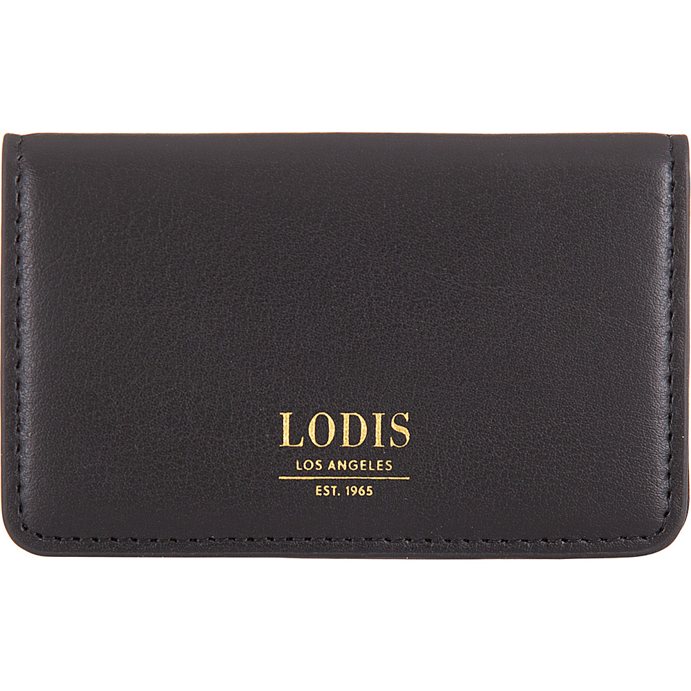 Lodis Laguna RFID Mini Card Case Black - Lodis Business Accessories - Work Bags & Briefcases, Business Accessories